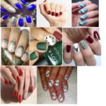 nail-art-natalizia